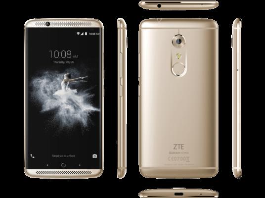 TOP! ZTE Axon 7   5,5 Zoll DualSIM Smartphone Gold o. Grau für 207,64€ (statt 321€)