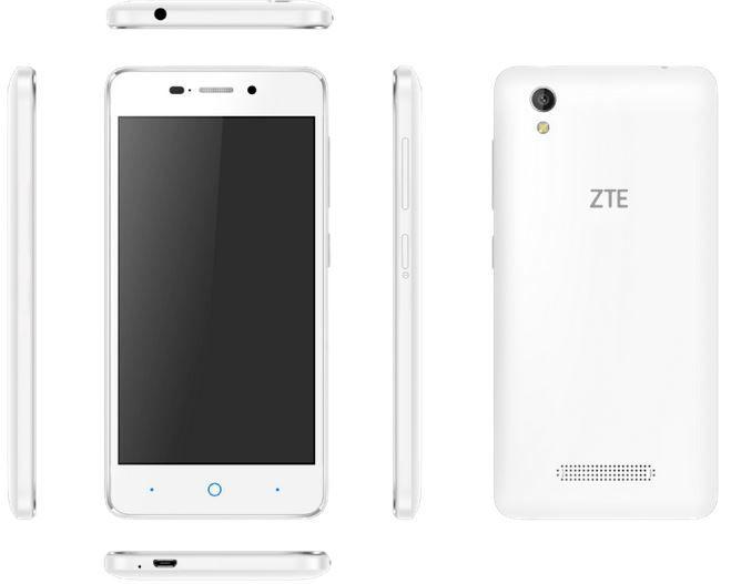 ZTE Blade A452 ZTE Blade A452   5 Zoll Android DualSIM Einsteiger Smartphone für 77€