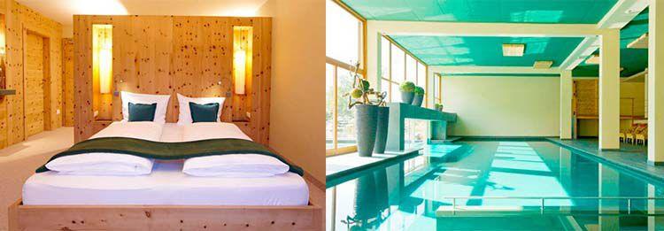 aerose zi 2 ÜN in Südtirol in einem 5* Design Hotel inkl. HP & Spa ab 229€ p.P.