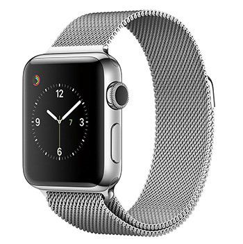 Apple Watch 2 38mm mit Milanaise Edelstahlarmband für 551,65€ (statt 734€)