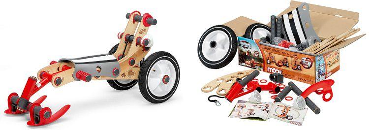 Berg Moov Starter Kit   Konstruktionsbausatz für Kinderfahrzeuge für 48,90€ (statt 98€)