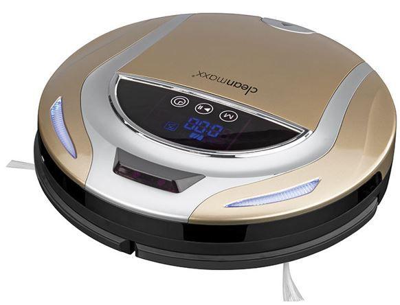 cleanmaxx Smart Plus Saugroboter gold für 99,99€ (statt 219€)   B Ware!