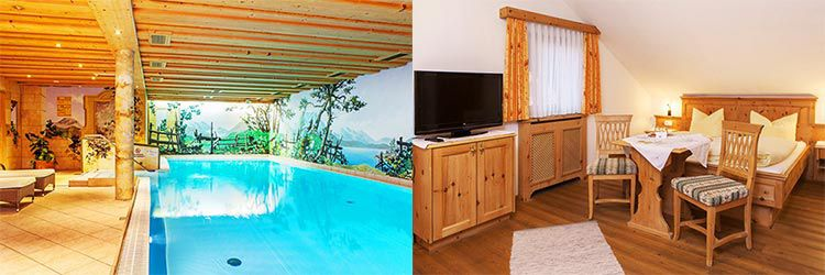 2 ÜN im Berchtesgadener Land inkl. HP, Wellness & Zirbenschaumbad ab 129€ p.P.