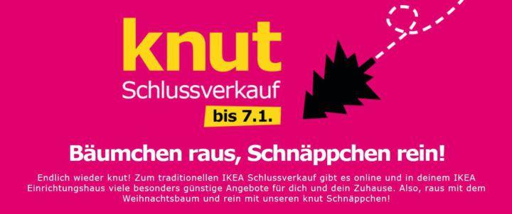 knut Schlussverkauf bei IKEA   z.B. Nockeby 3er Sofa für 599€ (sonst 699€)