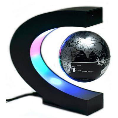 Schwebende Weltkugel mit LED für 16,19€
