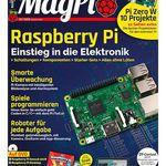6 Ausgaben MagPi + Raspberry Pi Zero W inkl. HDMI-Konverter für 54,80€