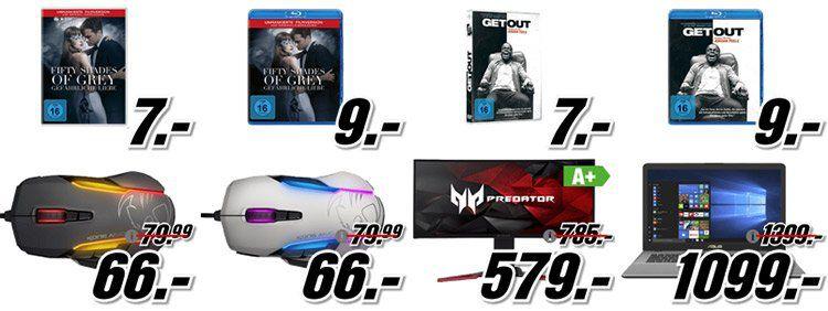 Media Markt gönn Dir Dienstag mit Gaming Deals   z.B. PS4 Pro 1TB Schwarz + Monster Hunter World für 395€ (statt 430€)