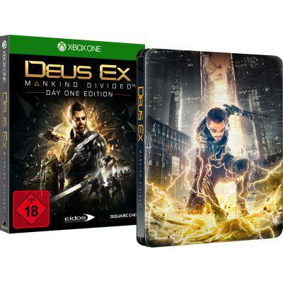 Deus Ex – Mankind Divided   Day One Edition (PS4, Xbox One) für 16,99€