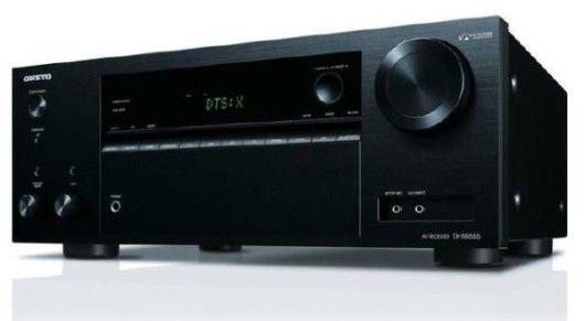 Onkyo TX NR555   7.2 AV Receiver in Schwarz für je 277€