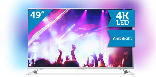 philips 49 4k led tv mit ambilight e1480844434510 Philips 49PUS6561/12   49 LED TV mit 4K + Ambilight (EEK: B) für 708,90€ (statt 769€)