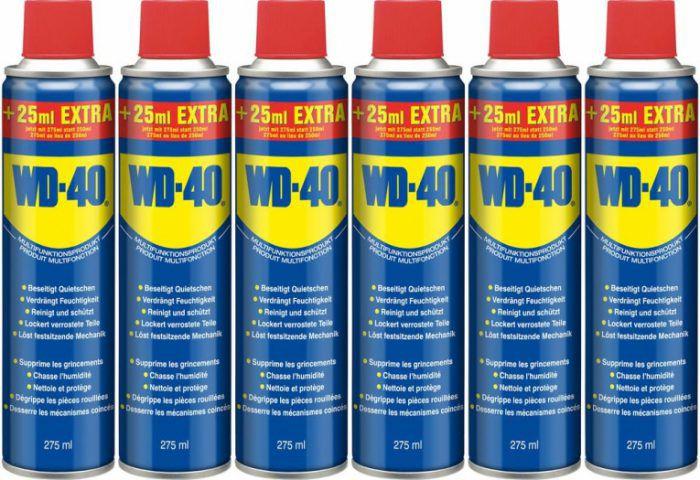 6er Pack WD40 Company Multi Öl (je 275ml) für 14€ inkl. VSK (statt 22€)