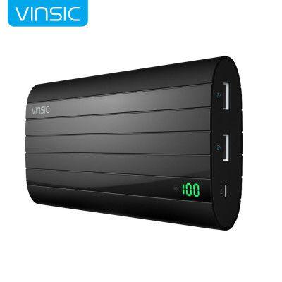 Vinsic Powerbank mit 20.000 mAh für 23,64€