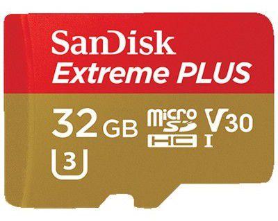 SanDisk Extreme Class 10 V30 microSDXC Speicherkarte 32GB ab 22,99€ (statt 37€)