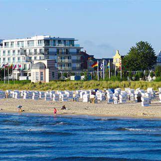 Last Minute: 2 ÜN im 4* Kaiserstrand Beachhotel auf Usedom inkl. Frühstück, Dinner & Wellness ab 114€ p.P.