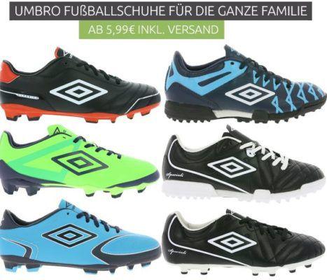 Umbro Sale bei Outlet46   Sneaker und Fußballschuhe ab 5,99€