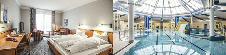 ÜN im 4* Victors Residenz Hotel in Thüringen inkl. HP, Spa & Fitness (Kind bis 12 kostenlos) ab 59€