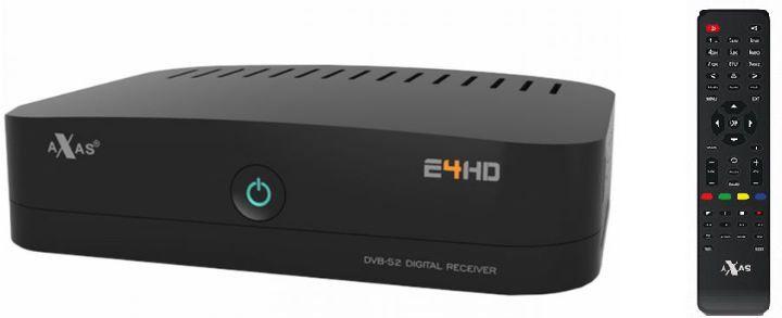 Axas E4   Linux Satreceiver mit Smartcardreader für 72,98€ (statt 81€)