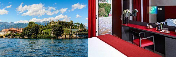 12 3, 4 oder 7 ÜN im 4* Hotel am Lago Maggiore inkl. Frühstück und 1 Abendessen ab 99€ p. P.