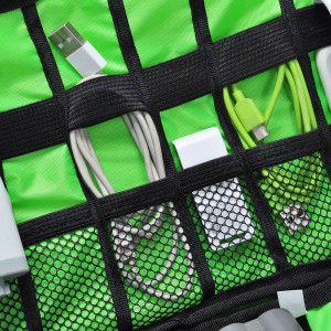 Reise Organizer Tasche zur Aufbewahrung & Transport von Elektronik für 0,87€