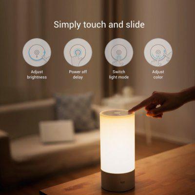 Xiaomi Yeelight   dimmbare Nachttischlampe für 38,76€ (statt 50€)