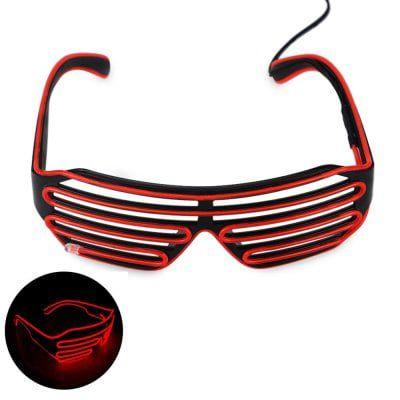 LED Brille mit Soundsteuerung für 3,93€