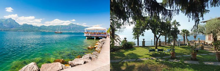 18 3, 4 oder 7 ÜN im 3* Hotel am Gardasee inkl. Halbpension ab 99€ p.P.