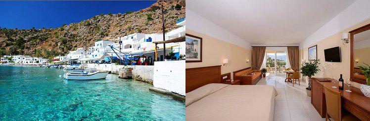 2 7 ÜN im 4* Hotel auf Kreta inkl. Halbpension oder All Inclusive und Flüge ab 389€ p. P.