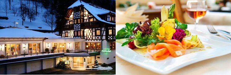 26 3, 4 oder 7 ÜN im 3,5* Hotel im Schwarzwald inkl. HP, 5 Gänge Dinner und Sauna ab 199€ p.P.