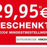 Gutschein Fehler im XXXL Shop? – z.B. WMF Brilliant – 6-teilig Edelstahl Topf-Set für 74,98€