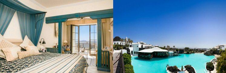 34 7 oder 14 Nächte im 5* Hotel auf Lanzarote inkl. Halbpension und Flügen ab 619€ p.P.