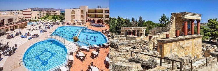 4 7 ÜN im 4* Hotel auf Kreta inkl. Halbpension oder All Inclusive und Flüge ab 389€ p. P.