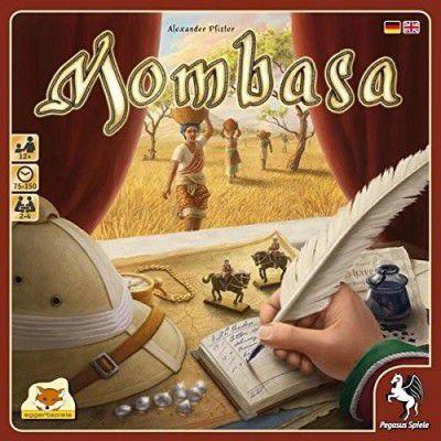 Pegasus Spiele 54562G Mombasa   Brettspiel für 2 4 Spieler ab 14,99€ (statt 25€)