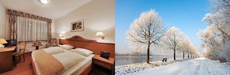 42 2   5 Nächte im 3* Hotel am Rhein inkl. Halbpension, 1 Flasche Riesling und WLAN ab 99€