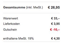 xora Schwingstuhl für 26,95€ (statt 38€)