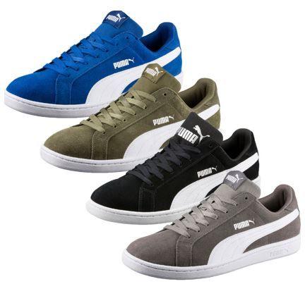 PUMA SMASH SD   Herren Wildleder Sneaker für 34,99€