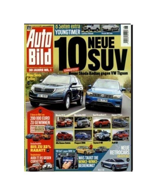 3 Monate AutoBild mit 13 Ausgaben effektiv mit 2,05€ Gewinn dank 30€ Amazon Gutschein