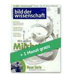 4 Ausgaben Bild der Wissenschaft für 24,60€ inkl. 25€ Amazon Gutschein