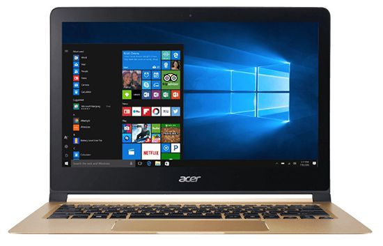 ACER Swift 7   13,3 Zoll Ultrathin Notebook + Win 10 für 777€ (statt 922€)