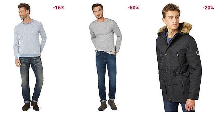 Tom Tailor Winter Sale mit bis zu 50% + 20% Gutschein