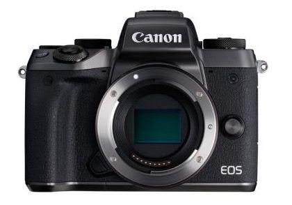 Canon EOS M5 Systemkamera Body für 977,99€ (statt 1.089€)