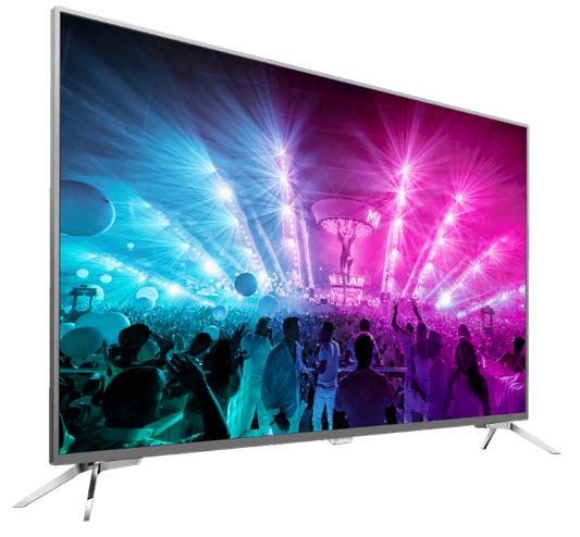 PHILIPS 49PUS7101/12   49 Zoll UHD Android TV + 3 seitigem Ambilight für 699€ (statt 799€)