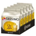 5er Pack Tassimo Chai Latte oder Caffé Crema für je 16,99€ (statt 25€)