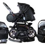 Bergsteiger Milano Kombi-Kinderwagen + Babyschale & viel Zubehör für 291,19€ (statt 334€)