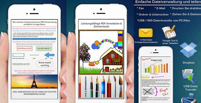PDF Pro (iOS) App gratis (statt 3,99€)