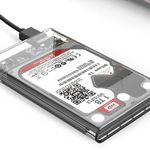 ORICO 2139U3 – 2,5 Zoll Festplatten-Schacht mit USB 3.0 Anschluss für 6,20€