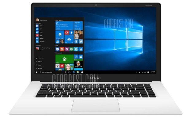 CHUWI LapBook   15,6 Zoll Full HD Notebook mit Win 10 für 164,30€ (statt 193€)