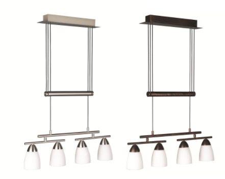 Massive by Philips LED Ess /Wohnzimmerleuchten 4x4W für je 36,99€ (statt 52€)