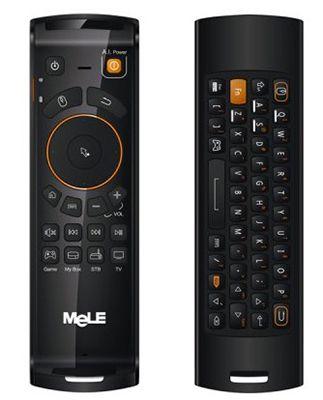 Mele F10 Deluxe   wireless Mini Tastatur mit Maus Funktion für 13,58€ (statt 21€)