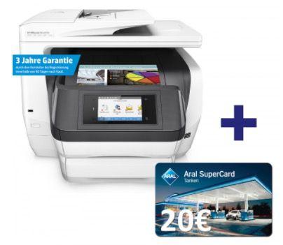 HP OfficeJet Pro 8740 Tintenstrahl Multifunktionsgerät für 269,28€ (statt 315€) + 50€ Cashback + 20€ Tankgutschein