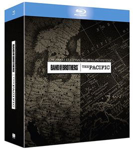 Band of Brothers + The Pacific Blu ray Box für 19€ (statt 41€)